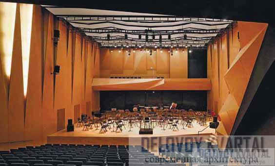Концертный зал консерватории