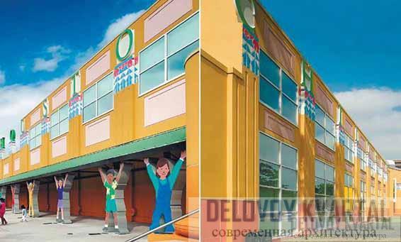 Фасады Детского музея