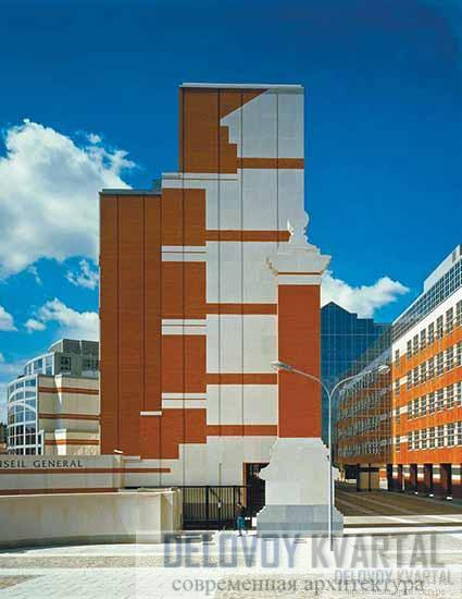 Новое здание Капитолия. Тулуза, Франция