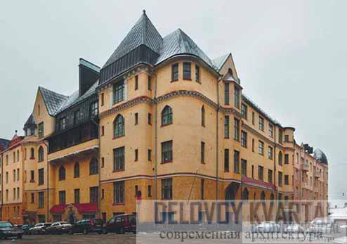 Дом «Эол». Общий вид. Хельсинки, Финляндия