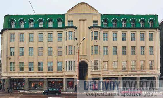 Кредитный банк. Главный фасад. Таллин, Эстония