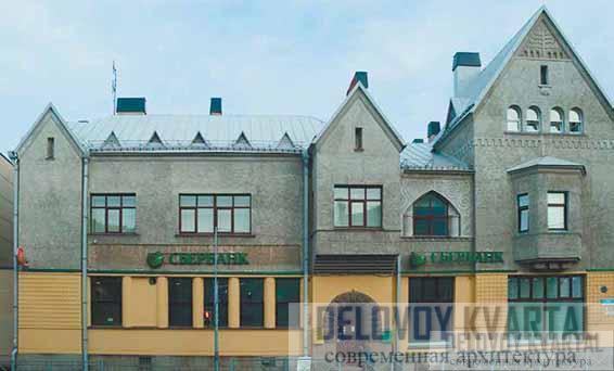 Национальный акционерный банк и Финляндский банк («Дом Леандера»). Сортавала, Карелия, Россия