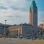 Железнодорожные вокзалы в Хельсинки и Выборге