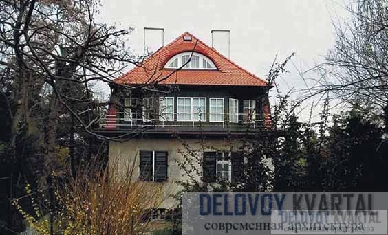 Дом О. Штоссла. Фасад
