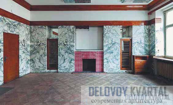 Фрагмент интерьера апартаментов Х. Семлера. Плзень, Чехия