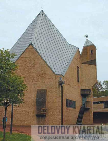 Церковь Детской деревни. Бергиш-Гладбах, Германия