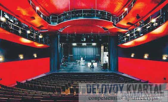 Интерьер зрительного зала театра