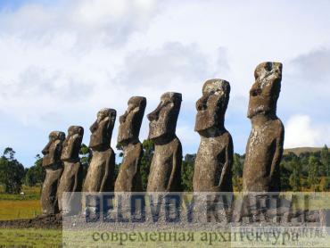 Статуи моаи (Остров Пасхи)