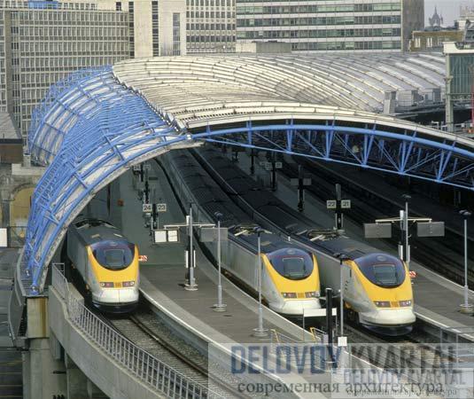 Евротоннель и вокзал Евростар (Лондон - Париж)