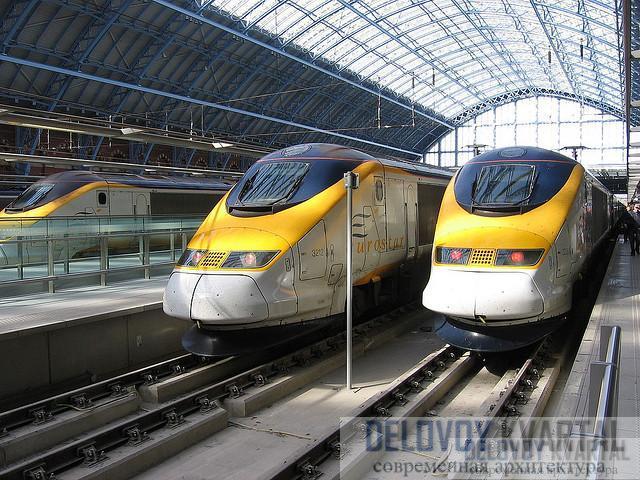 Каждый поезд «Евростар» может везти 766 пассажиров - почти вдвое больше, чем «Боинг-747»