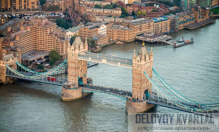 Тауэрский мост (Лондон, Англия)