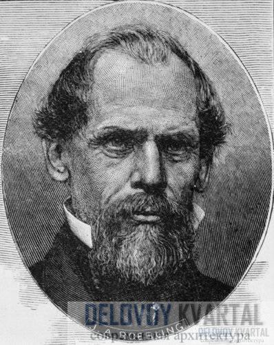 Джон Огастес Реблинг, инженер и создатель проекта Бруклинского моста.