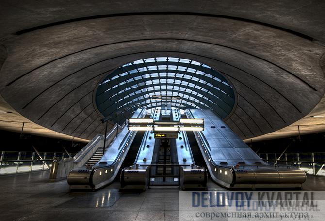 Станция лондонского метро «Кэнэри Уорф»