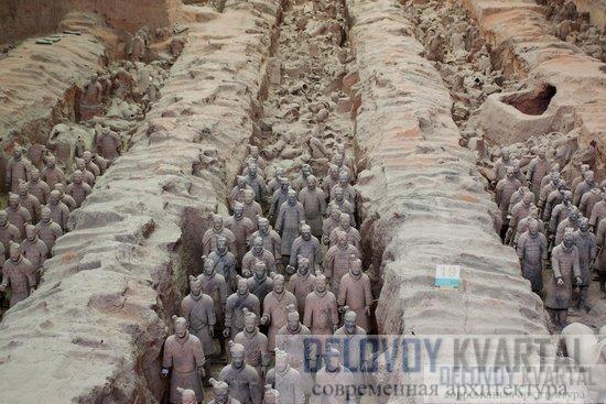 Терракотовая армия (Сиань, Китай)