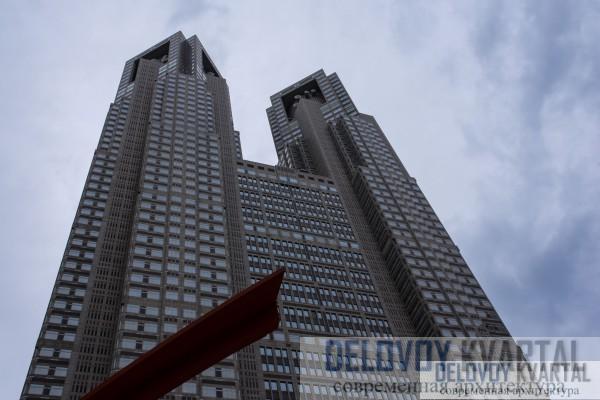 Здание Токийского муниципалитета (Япония)
