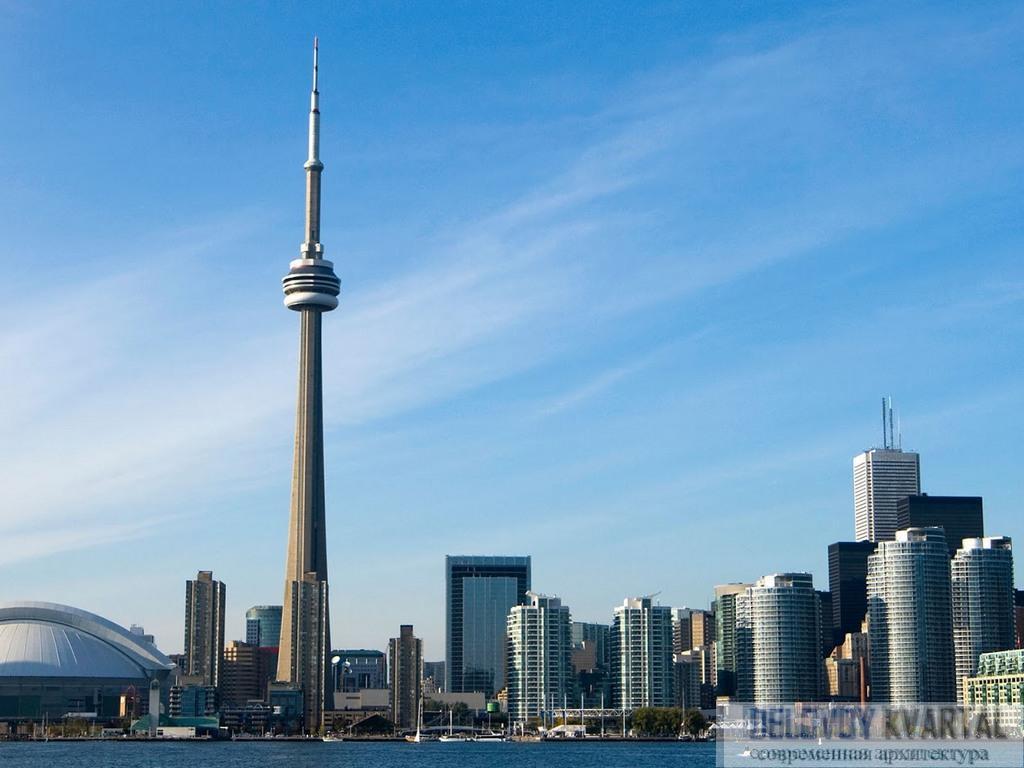Телебашня в Торонто (Си-Эн Тауэр, Канада)