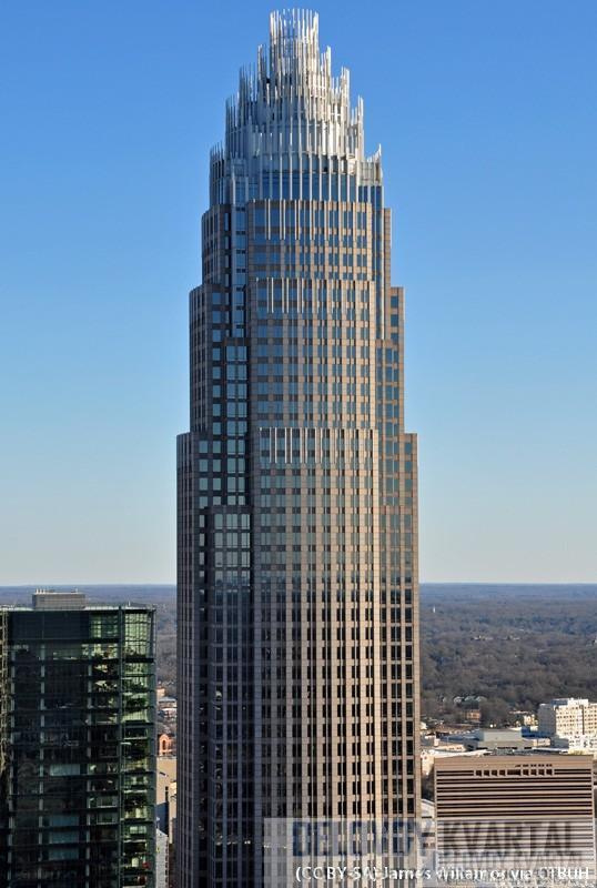 Небоскреб Корпоративный центр Банка Америки (Bank of America Corporate Center)