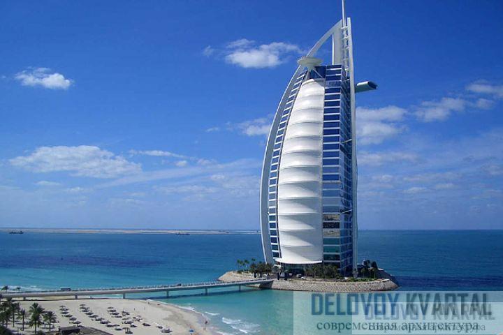 Бурдж-аль-Араб (Дубай, ОАЭ)