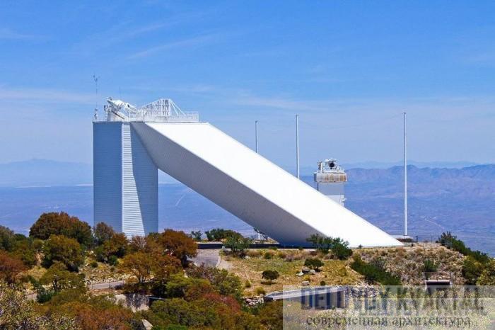 Солнечный телескоп Макмат-Пирс - арх. Майрон Голдсмит (Тусон, Аризона)