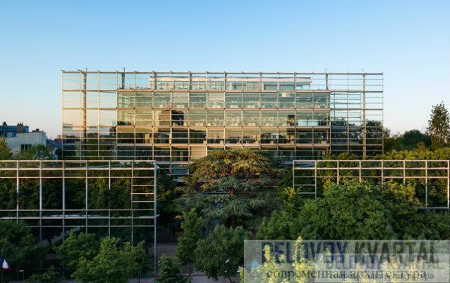 Фонд современного искусства Картье (Париж, Франция)