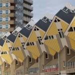 Кубические дома — арх. Пит Блом (Роттердам, Нидерланды)