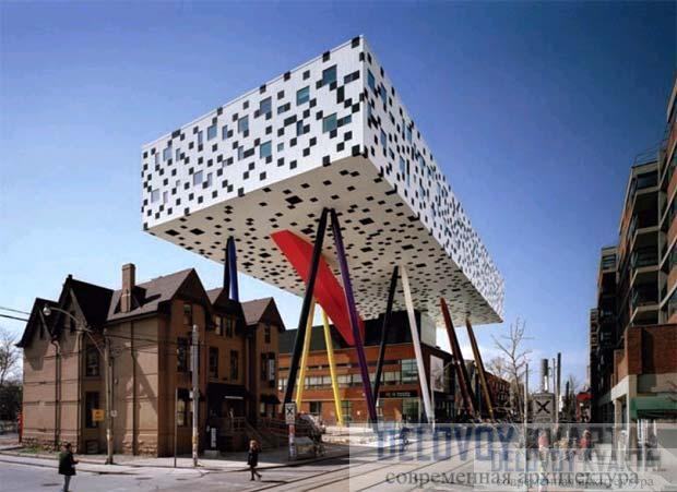 Центр дизайна Шарпа (Торонто, Канада, арх. Уилл Олсоп)