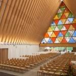 Картонный собор (арх. Сигэру Бан, Крайстчеч, Новая Зеландия)