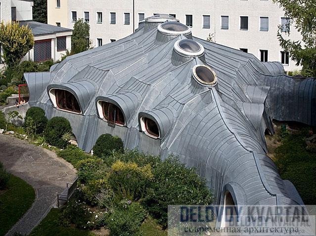 Школьный зал (арх. Гюнтер Домениг, Грац, Австрия)