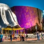 EMP Музей (арх. Фрэнк Гери, Сиэтл, Вашингтон)