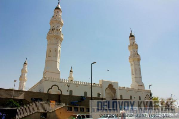 Реставрация мечети Аль-Куба (Медина, Саудовская Аравия)