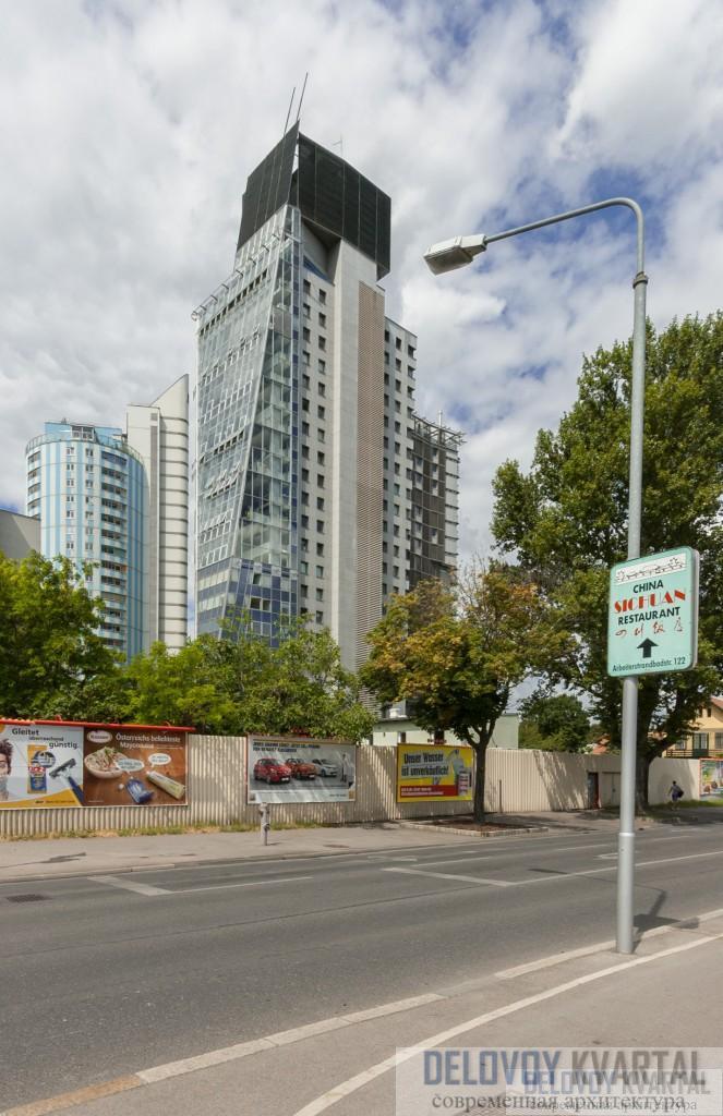 Башня апартаментов SEG (арх. Coop Himmelb(l)au, Вена)