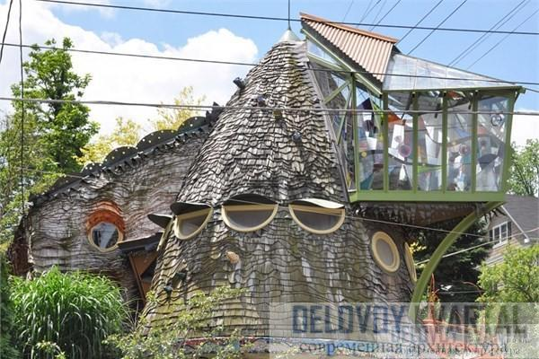 Дом-гриб (арх. Терри браун, Цинциннати, Огайо, США)