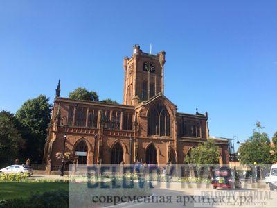 Кафедральный собор Ковентри (арх. Бейзил Спенс)