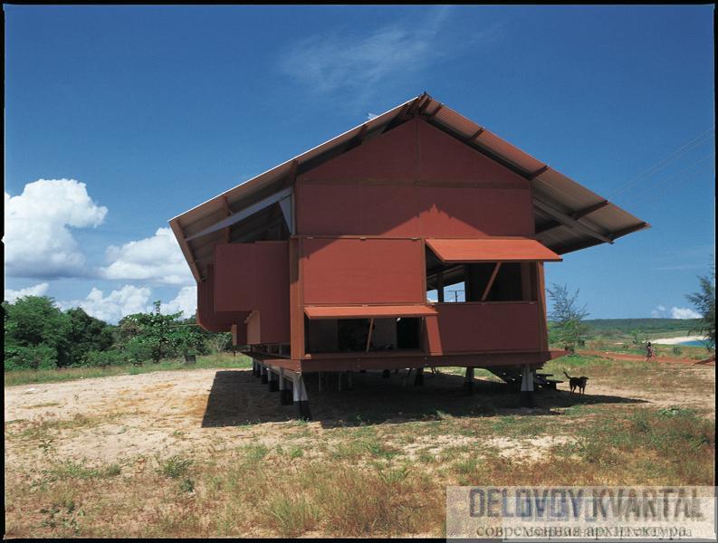 Дом Марика-Альдертон (арх. Гленн Меркетт, Австралия)