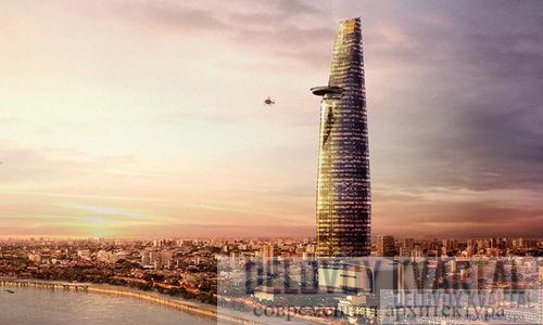 Финансовая башня Bitexco (арх. Карлос Сапата, Вьетнам)