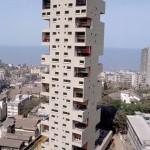 Апартаменты Канченджанга (арх. Чарльз Корреа, Мумбаи, Индия)