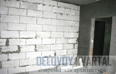 Внутренние стены из пенобетона