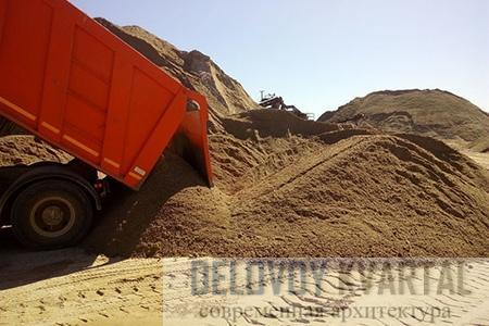 Характеристики песка