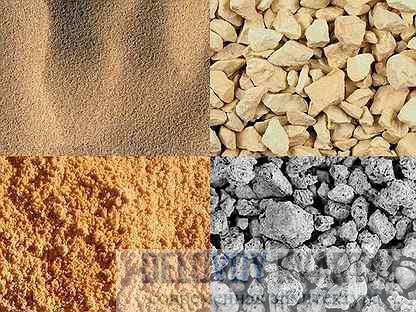 Нерудные строительные материалы
