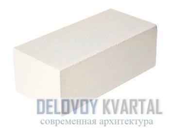 Кирпич рядовой силикатный полнотелый M150 белый