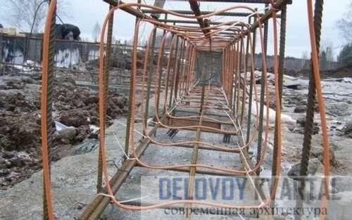 Прогрев бетона греющим проводом ПНСВ