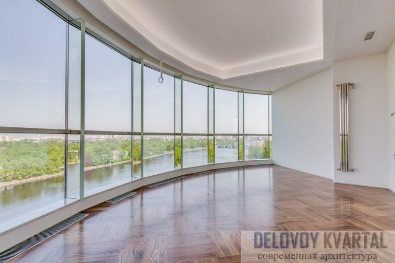 Скай Ривер панорамные окна