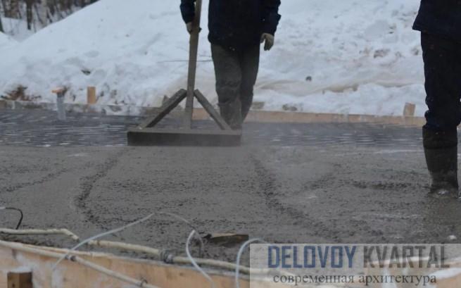 Методы заливки бетонной смеси при отрицательных температурах
