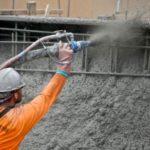 Технология торкретирования бетона