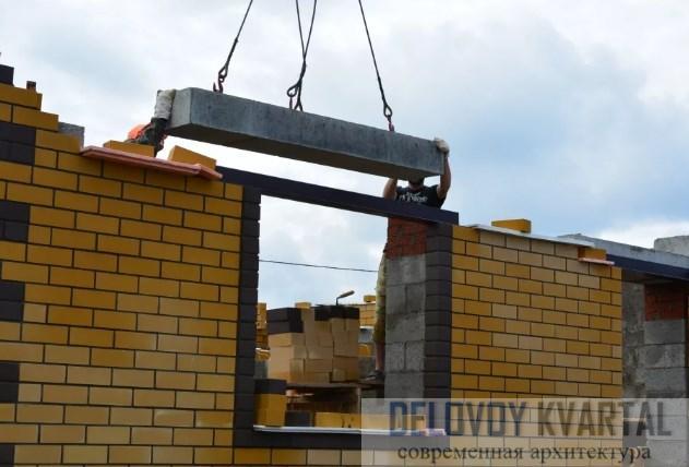 Железобетонные перемычки в строительстве